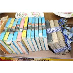 Flat with 11 Hardy Boys Books & Other Children's Books
