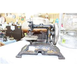 Small Cast Sewing Machine - As Is