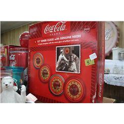 "Coca Cola 15"" Diner Clock"