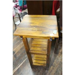 Wooden 2 Tier Plant Stand