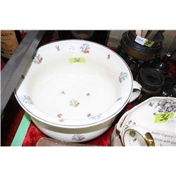 Floral Ceramic Chamber Pot
