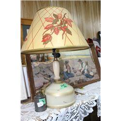 Coleman Lamp with Filler Tin
