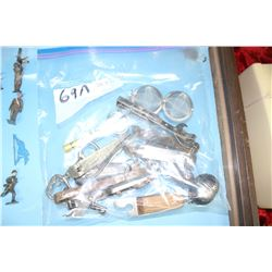 Bag of Openers and 2 Tea Strainers