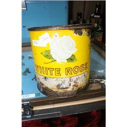White Rose Grease Tin