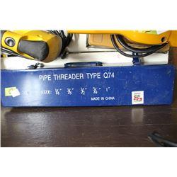 Hand Pipe Threader Kit