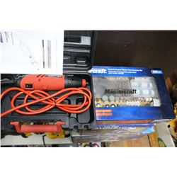 Jobmate Rotary Tool with Accessory Set