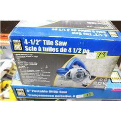 """Tile Saw - 4 1/2"""""""