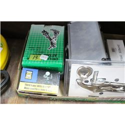 Flat with Hole Saws & Drill Sharpener Attachments