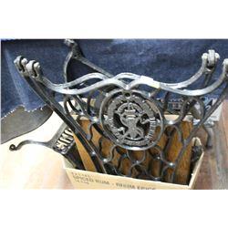 Singer Sewing Machine Parts - Cast Iron Legs, etc.