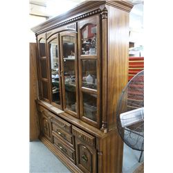 China Cabinet in Poor Condition