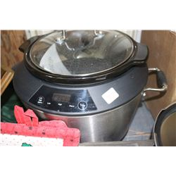 Small Pressure Cooker & a Slow Cooker