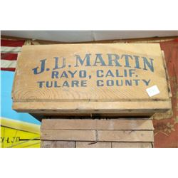 JD Martin Fruit Box
