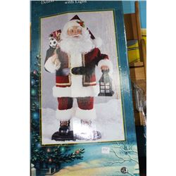 Animated Santa Claus with Light