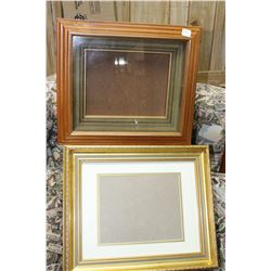2 Wooden Picture Frames