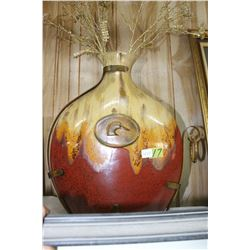 Ducks Unlimited Metal Vase