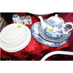 Collection of Churchill Dishes including TeaPot