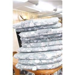 Several Chair Cushions