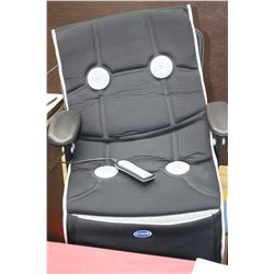 Heated Massage Pad for a Chair