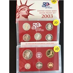 2003 USA Silver Mint Proof Set