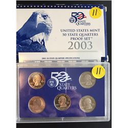 2003 USA Mint Proof Set