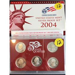 2004 USA Silver Mint Proof Set