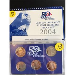2004 USA Mint Proof Set