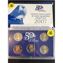 2007 USA Mint Proof Set