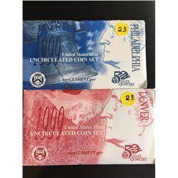 1999 USA Mint UNC Sets (D & P Mint Marks)