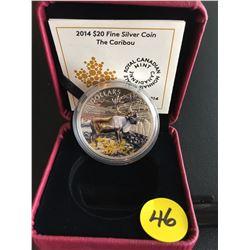 2014 Canada $20 FS The Caribou