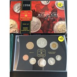 1998 Canada Proof Set, 125 Ann. RCMP