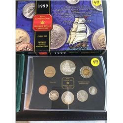 1999 Canada Proof Set, 225 Anniv. Voyage of Juan Perez