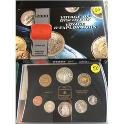 2000 Canada Proof Set, Voyage of Discovery
