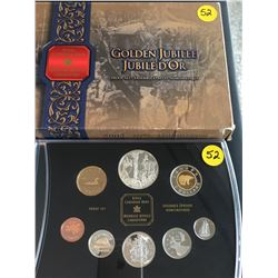2002 Canada Proof Set, Golden Jubilee