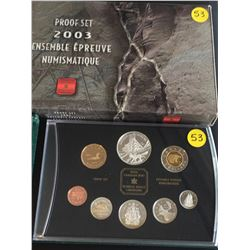2003 Canada Proof Set, 100 Anniv. Colbalt Mining