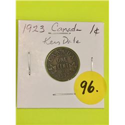 1923 Canada Small Cent, KEY DATE