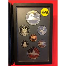 1986 Canada Double Dollar Proof Set, Vancouver 100 Years