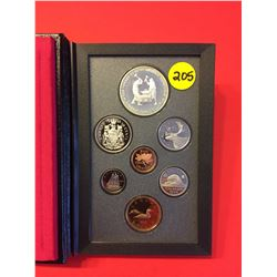 1988 Canada Double Dollar Proof Set, Les Forges Ironworks