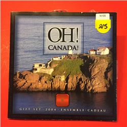 2004 OH! CANADA! UNC  Set