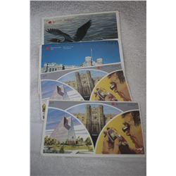 Cdn. Mint Sets (4) - 1982, 1984, 1987, 1988