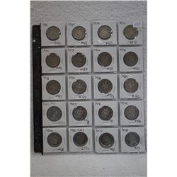 Collection of Cdn. 50¢ Coins