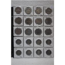 Collection of Cdn. Coins