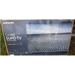 Samsung Curved 55-Inch 4K TV