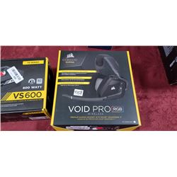 CORSAIR VOID PRO RGB Wireless Gaming Headset with DOLBY HEADPHONE 7.1