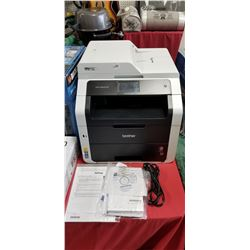 Brother MFC-9340CDW All-in-One Wireless Digital Color Printer, 23ppm Black/Color