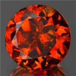 Natural Sunset Orange Sphalerite 10 MM - Flawless