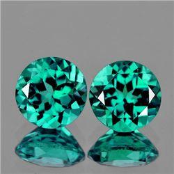Natural Paraiba Green Blue Apatite 3.14 Cts - Flawless