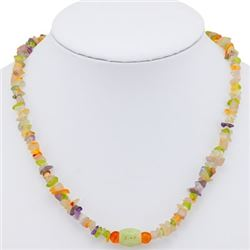 Natural Jade Pendant & Gemstone beads 150 cts Necklace