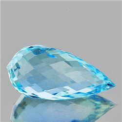 Natural Sky Blue Topaz 14.86 MM - FLawless