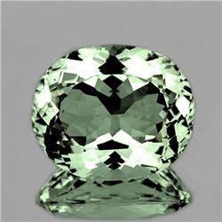 Natural Healing Green Color Amethyst 11.72 Ct - FL