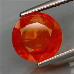 Natural Mandarin Orange Spessartite Garnet 4.02 cts